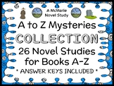 A to Z Mysteries COLLECTION (Ron Roy) 26 Novel Studies : Books A-Z  (728 pages)