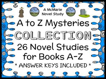A to Z Mysteries COLLECTION (Ron Roy) 26 Novel Studies for