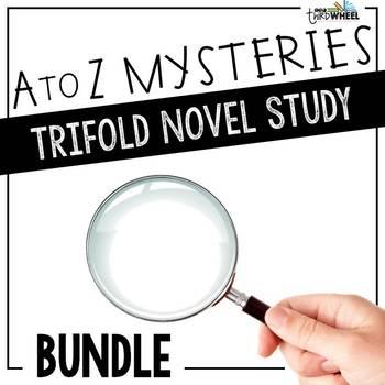 A to Z Mysteries Novel Study Units - Growing Bundle