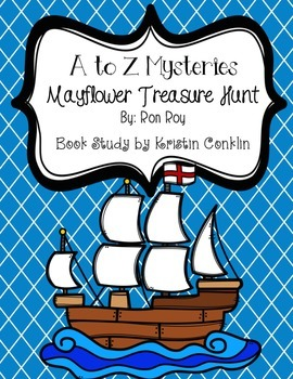 A to Z Mysteries Mayflower Treasure Hunt