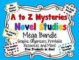 A to Z Mysteries Novel Studies Mega Bundle