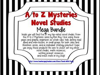 A to Z Mysteries Novel Studies Mega Bundle