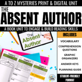 The Absent Author Novel Study Unit - A to Z Mysteries #1