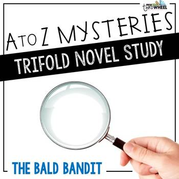the bald bandit novel study unit a to z mysteries 2 tpt rh teacherspayteachers com