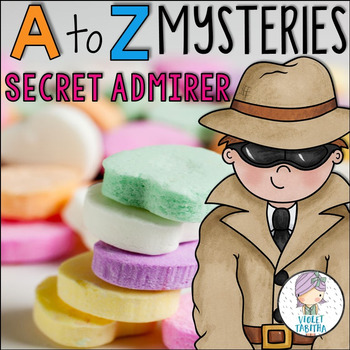 A to Z Mysteries Secret Admirer