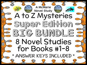 A to Z Mysteries Super Edition COLLECTION (Ron Roy) : 8 Novel Studies (255 pgs)