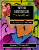 A to Z Mysteries THE BALD BANDIT- Comprehension DIGITAL & PRINTABLE
