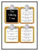 A to Z Mysteries THE TALKING T-REX  -  Discussion Cards