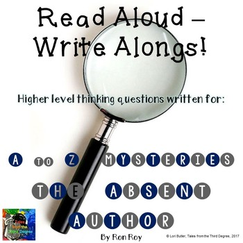 A to Z Mysteries The Absent Author Read Aloud Write Along