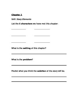 A to Z Mysteries-The Castle Crime COMPLETE Comprehension Guide and Answer Key!