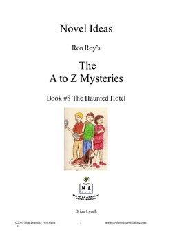A to Z Mysteries: The Haunted Hotel - A Novel Study for Young Readers