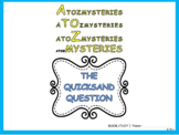 Reading Packet : A to Z Mysteries - The Quicksand Question