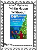 A to Z Mysteries White House White-out