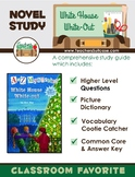 A to Z Mysteries White House White-out {Novel Study, Activities & Common Core}