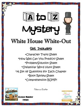A to Z Mystery White House White Out