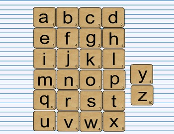 A to Z Order Word Building