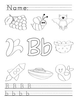 A to Z Alphabet Phonics Worksheets - Zaner Bloser