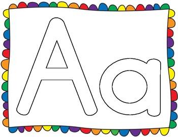 A to Z Play-Doh Mats