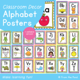 Alphabet Posters {Editable Classroom Decor}