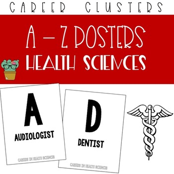 A to Z Posters - Health Sciences Career Cluster