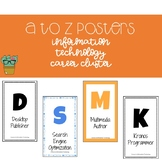 A to Z Posters - Information Technology Career Cluster