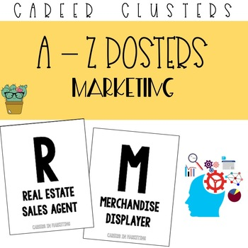 A to Z Posters - Marketing Career Cluster
