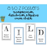 A to Z Posters - Transportation, Distribution and Logistic