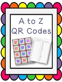 A to Z QR Codes