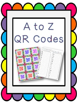 A to Z QR Codes