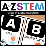 A to Z STEM Posters or Bulletin Board