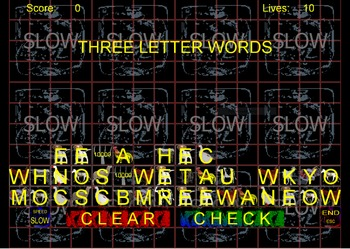 A to Z Spelling Blocks Farm Animals Windows Application
