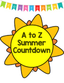A to Z Summer Countdown (editable)