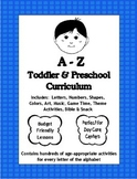 A to Z Pre-K, Complete Theme-Based Curriculum and Management Plan