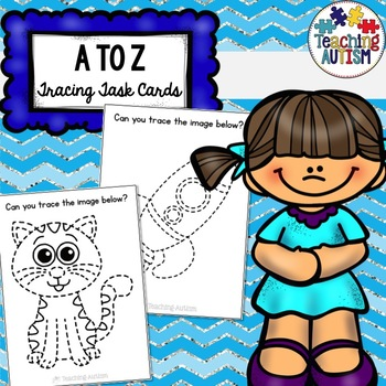 A to Z Tracing Task Cards