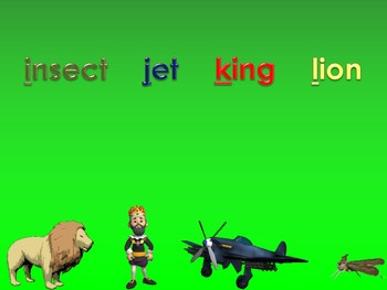 A to Z Vocabulary Match 2 PowerPoint Show