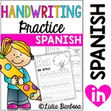 SPANISH A to Z Writing Practice-