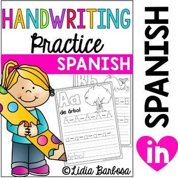 SPANISH A to Z Writing Practice