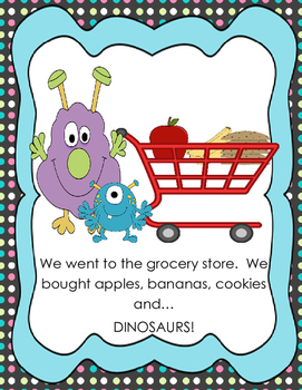 A to Z at the Grocery Store Big Book