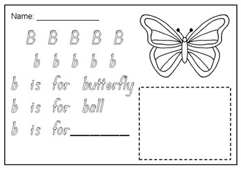 A to Z handwriting letter tracing sheets FREEBIE