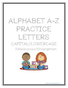FREE A to Z Handwriting Practice Sheets