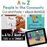 A to Z of People in the Community BUNDLE (Printables + Digital eBook)