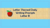 A to Z writing Packet – Letter B