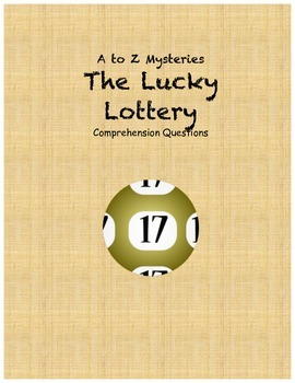 A to z mysteries The Lucky Lottery comprehension Questions
