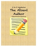 A to z mysteries the absent author comprehension questions