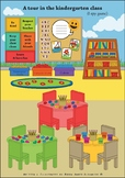 A tour in the kindergarten class - I spy game