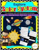 Solar System-Unit with Worksheets and Activities