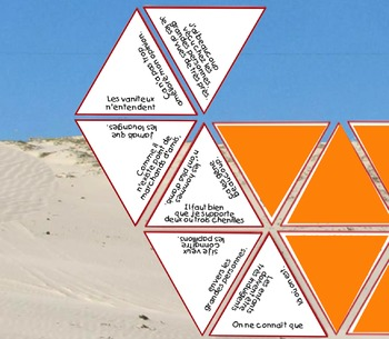 Le Petit Prince: 38 citations (An advanced triangle puzzle