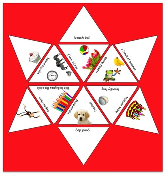 A triangle puzzle for beginning readers