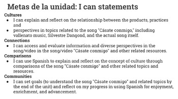 """Cásate conmigo""- a story/song mini unit for late Spanish 2 (or above)"