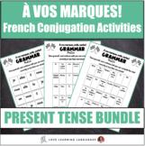 À vos marques, prêts, partez! - French grammar review games BUNDLE